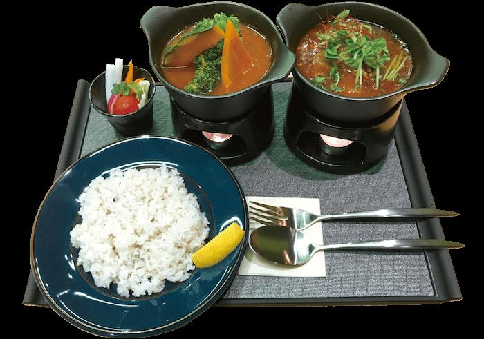 薬膳スープカレー 野菜&ポーク