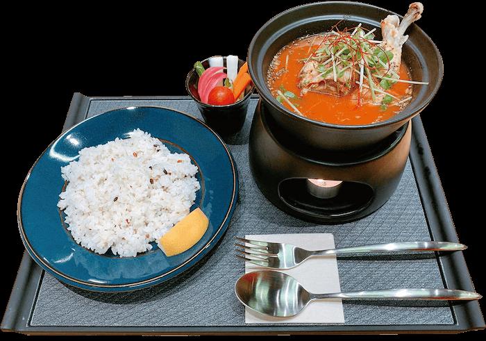 薬膳スープカレー チキン&ポーク