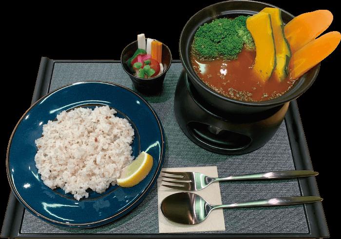 薬膳スープカレー 野菜